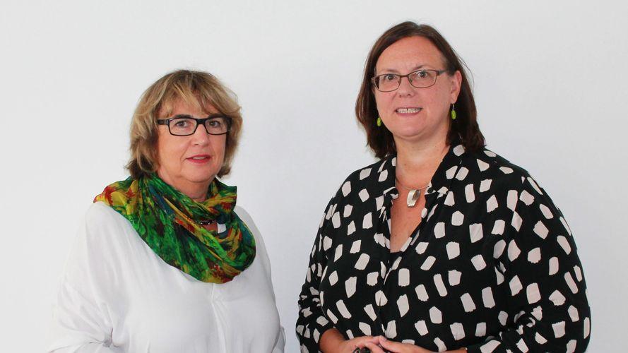 Heidmarie Rubart & Brigitta Wortmann © BBE / Chantal Schöpp