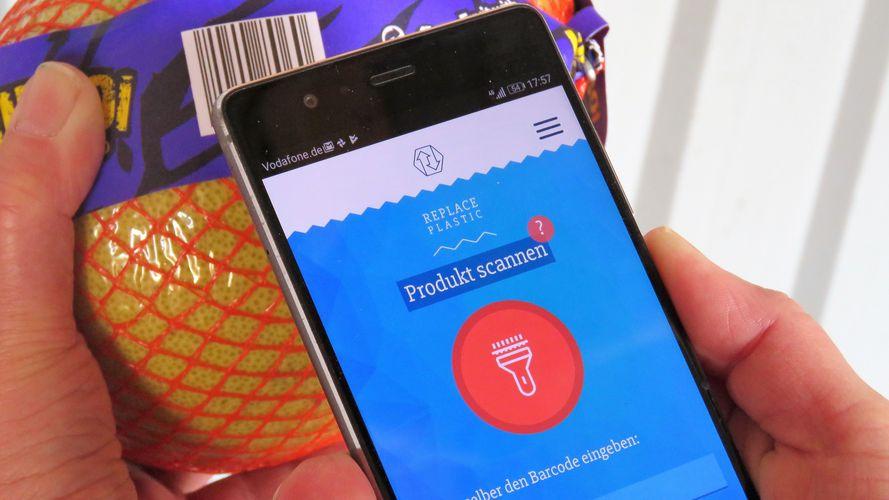 Replace Plastic-App