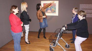 Besuch im Museum c Susanne Burge