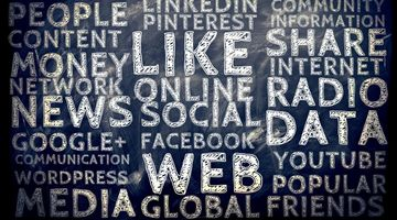 Social Media Schlagworte © geralt / Pixabay