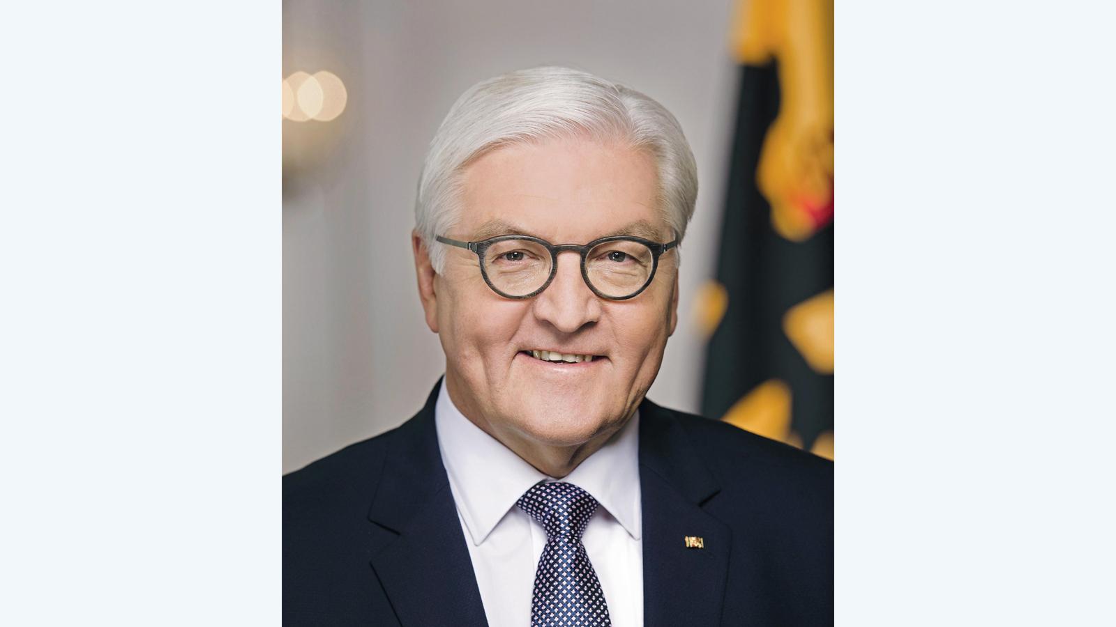 Portrait des Bundespräsidenten Frank-Walter Steinmeier